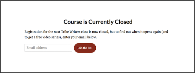 courseclosed