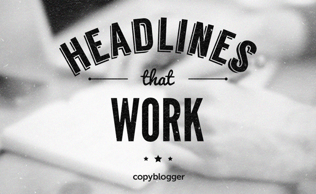 Image of a 'Headlines That Work' logo