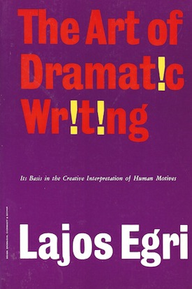 Image of The Art of Dramatic Writing Book Cover