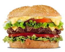 image of hamburger