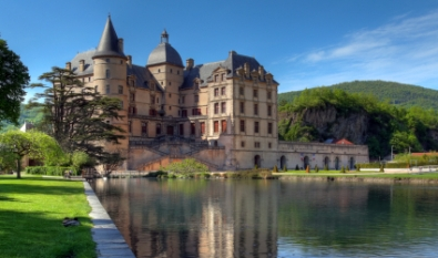 image of French castle