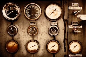 Image of Vintage Dials and Gauges