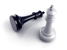 image of chess kings