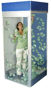 image of a money booth