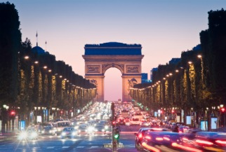 image of Arc de Triomphe in Paris