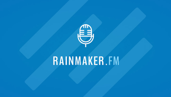 Image of the Rainmaker.FM Logo